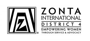 Zonta District Logo_Horizontal_BW